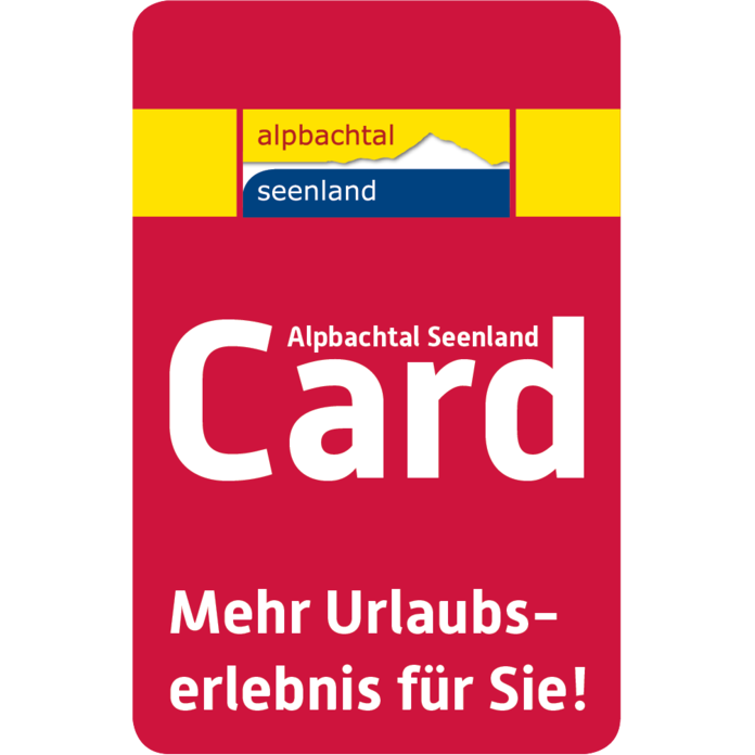 Alpbachtal Seenland Card